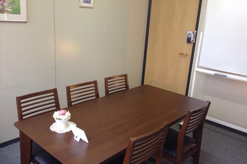 ひろえFP社労士事務所内の面談スペース